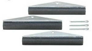 3 Arm Replacement Stones For Engine Cylinder Hone 240 Grit 4 Long X 5 8 Wide