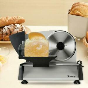 7 5 150w Commercial Meat Slicer Electric Deli Cheese Slice Veggie Cutter Kitchen