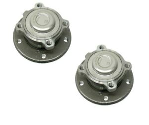 Pair Set 2 Front Fag Wheel Bearing Hub Kit For Bmw E82 E88 E91 E92 E93 E84 E89