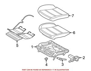 For Bmw Genuine Seat Cover Front Left 52107230654