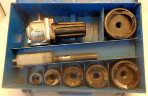 Ray Tools Rt2010 Ko Puncher Knockout Set In Metal Case 1 2 To 2 1 2