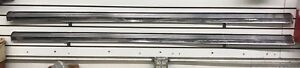 1952 1953 1954 Ford Nos Nors Rocker Moldings Stainless Pair With Hardware