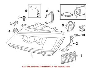 For Bmw Genuine Headlight Restoration Kit Right 63117401166