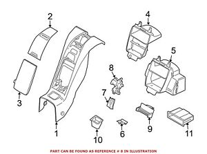 For Bmw Genuine Center Console Latch 51467068449