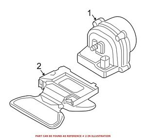 For Bmw Genuine Anti theft Alarm Control Unit 65759149673