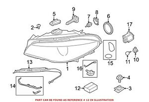 For Bmw Genuine Headlight Restoration Kit Front 63117296902