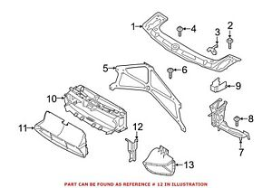 For Bmw Genuine Brake Air Duct Front Left 51748057149