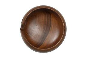 Handmade Wooden Yarn Bowl Handcrafted From Exotic Natural Wood Knitting Yarn Z
