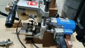 Scheer Stair Handrail Routing System Router Model Fg 308 W 4 Router Bits Used