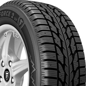 2 New 265 70r17 Firestone Winterforce2 Uv 115s Winter Tires Frs148351