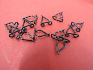 New 1934 Ford Passenger Car Grille Trim Clips Set 40 20001