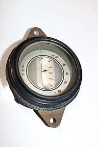 Old Vintage Amp Gauge