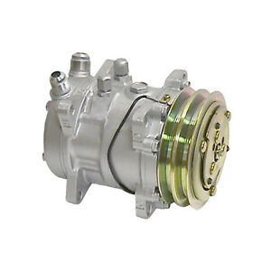 Ryc Remanufactured Ac Compressor And A c Clutch Eg542 Replaces Sanden 9056