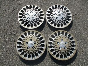 Chevy 14 Inch Mag Style Hubcaps Wheel Covers Set