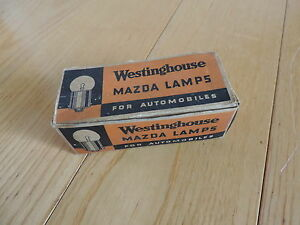 Mazda Lamps Light Bulbs Automobile Westinghouse For Antique Car Free Shipping