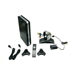 Polycom Hdx8000 Video Conferencing System W 1 camera 2 microphones