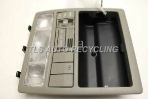 Grey Over Head Console With Homelink 6365006090 Fits 2007 Toyota Camry Oem