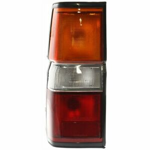 Halogen Tail Light For 1987 1995 Nissan Pathfinder Left Amber Clear Red W Bulbs