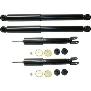 Shocks Set For 03 06 Chevy Silverado 1500 02 06 Avalanche 1500 Rwd Front