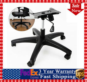 28 Inch Office Chair Base 360 Rotation 5x Wheel Casters Easy Installation New