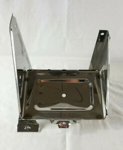 Chevrolet Chevy Gmc Truck Stainless Battery Tray Assembly W Bracket 1967 1972
