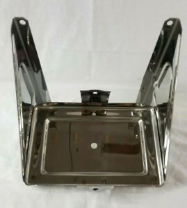 Chevrolet Chevy Gmc Truck Stainless Battery Tray Assembly 1958 1959