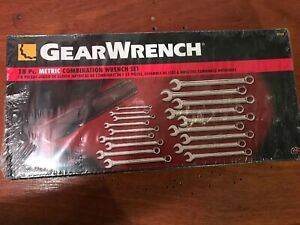 Gearwrench Kdt81920 18 Piece Metric Combination Non Ratcheting Wrench Set