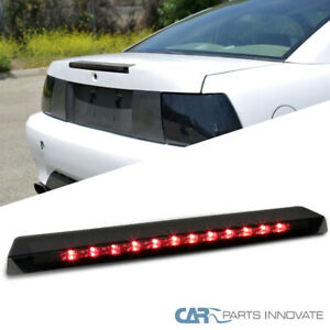Fit Ford 99 04 Mustang Replacement Led 3rd Third Brake Light Rear Lamp Smoke