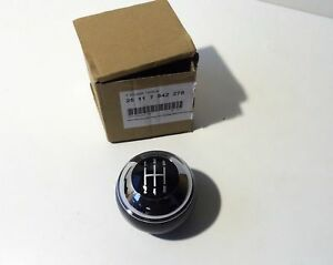 Genuine New Mini Cooper R50 R52 Cabrio R53 Manual Shift Knob 7542278