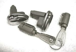 New 1958 Ford Edsel Door Ignition Trunk Locks All Keyed Alike With Edsel Keys