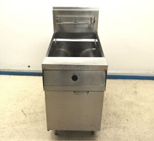 Frymaster Mjcfsd Gas Deep Fryer Fat Natural 80 lb 150 000 btu 21 width Ak