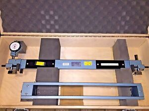 Dorsey Large Shallow Diameter Gage Ldf 24 sp Set Master Gage Smf 24 Id Od