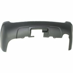 Bumper Cover For 1999 2004 Jeep Grand Cherokee Rear Primed With Hitch Bezel