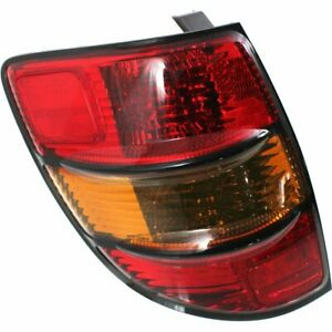 Tail Light Lamp New Left Hand Driver Side Lh Gm2800192 88969948 Pontiac Vibe