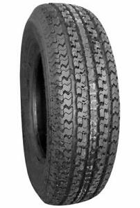 2 New Power King Towmax Str Ii St205 75r15 Load D 8 Ply Trailer Tires