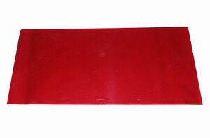 Red Pyraline Lens Material For Antique Classic Car Tail Lights