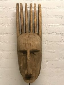 180522 Large Old Tribal Used African Dogon Mask Mali