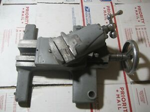 Craftsman 10 And 12 Lathe Saddle And Compound