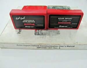 Snap On Mt2500 Scanner 2001 Asian Primary Troubleshooter Cartridges W Manual