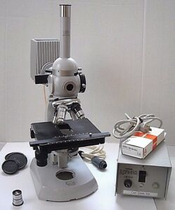 Zeiss Standard 16 Microscope Incl Arc Lamp Epi Fluorescence See All 12 Pix