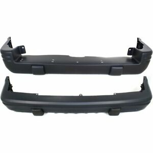 Front Rear Bumper Cover Set For 1996 1998 Jeep Grand Cherokee Limited Primed