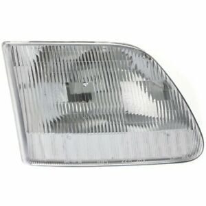 Halogen Headlight For 1997 2002 Ford Expedition Right W Bulb Capa