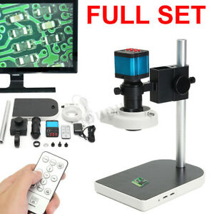 14mp 1080p Hdmi Usb Digital Industry Video Microscope Camera C mount Lens Dvr