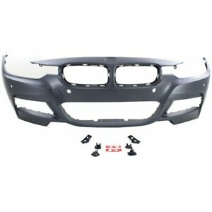 Front Bumper Cover For 2013 2016 Bmw 328i Xdrive W M Sport Pdc Ipas Cam Holes