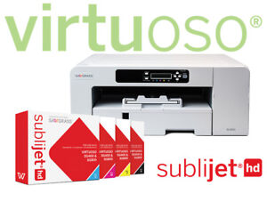 Sawgrass Virtuoso Sg800 W Sublijet Hd Printer Set Ink Brand New free Shipping