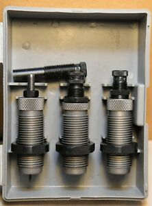 RCBS 45 ACP RELOADING DIES WITH CARBIDE SIZER & TAPER CRIMP SEATER