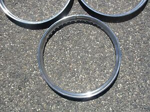 Lot Of 3 1948 Dodge Chrysler Plymouth Ford 14 Inch Beauty Rings Trim Rings