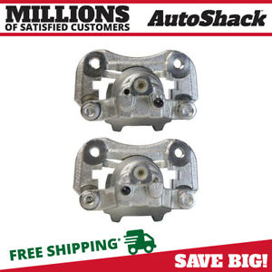 New Pair Of Rear Left And Right Brake Calipers Fits 2004 2007 Toyota Highlander