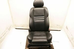 Black Passenger Rh Front Leather Bucket Seat Electric Fits 06 07 Bmw M5 E60 Oem
