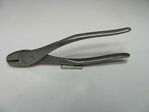 Vintage Snap On Vacuum Grip Mini 4 5 Ignition Pliers No 5